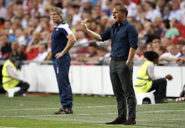 De Boer vreest nog steeds leegloop Ajax