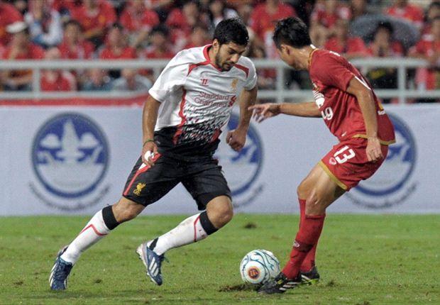 Luis Suarez masih harus mengejar ketertinggalannya.