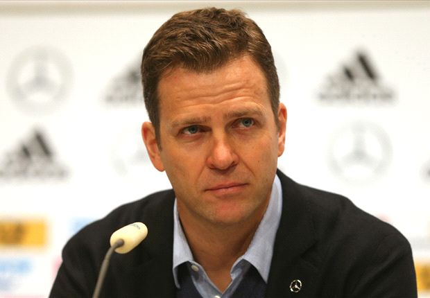 Germany under pressure, admits Bierhoff