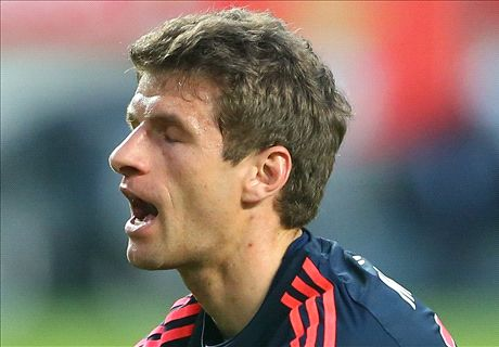 TEAM NEWS: Bayern leave Muller out