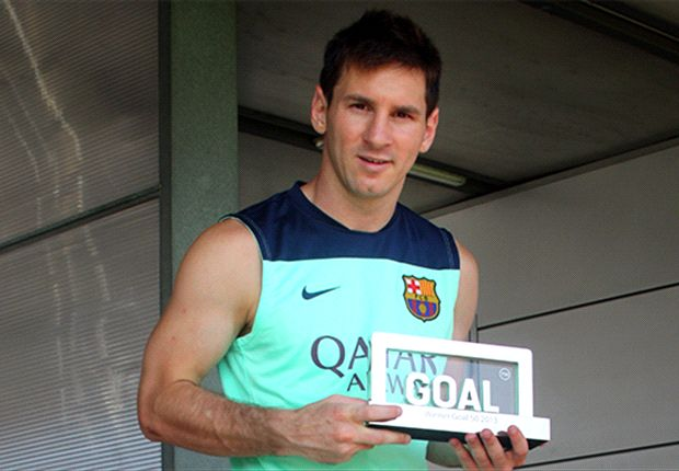 Question of the Day: Is Messi the correct choice for the Goal 50 award?