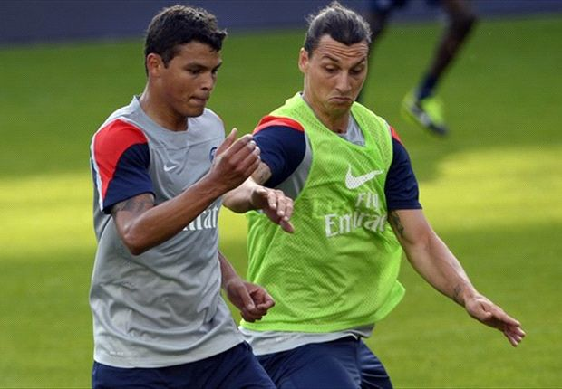 Ibrahimovic playing better than Ronaldo and Messi - Thiago Silva