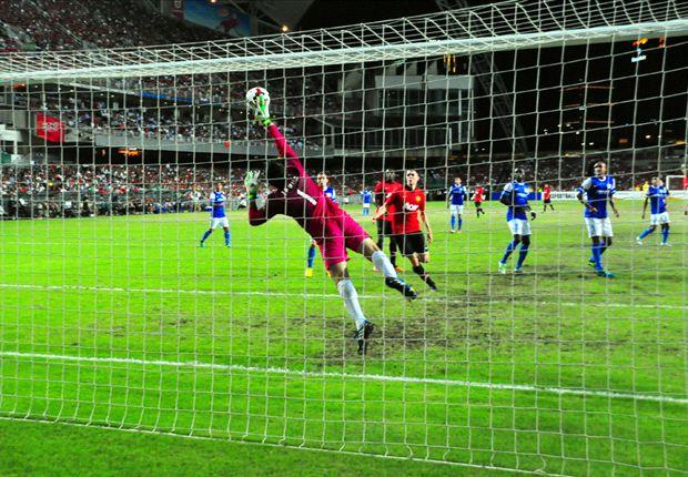 Manchester United besiegte Kitchee standesgemäß mit 5:2