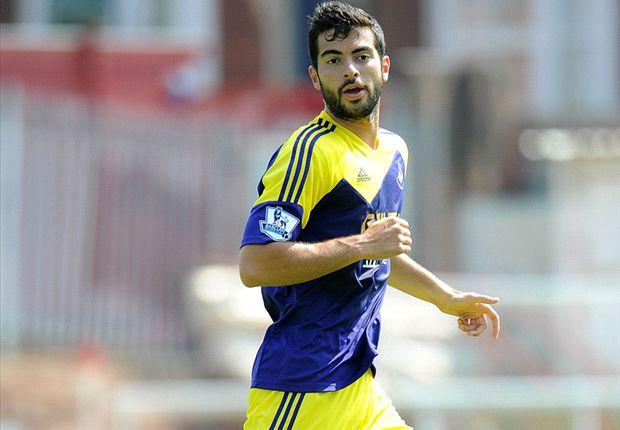 Amat relishing Swansea's Europa League debut