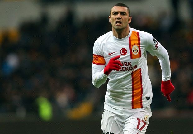 Galatasaray laughs off Lazio's Burak bid