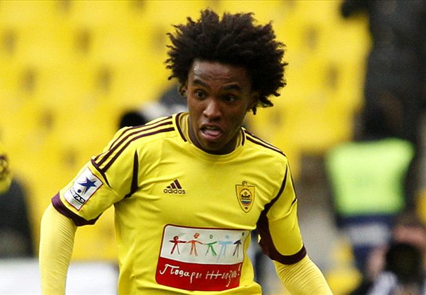 Liverpool confident of beating Tottenham to Willian signing