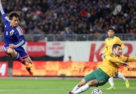 Okazaki thrilled to play Socceroos