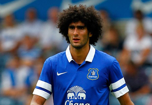 Everton boss Martinez plays down Fellaini injury fears