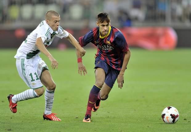 Debut Neymar bersama Barcelona
