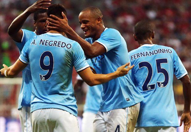 Audi Cup 2013 Final - Bayern Muenchen v Manchester City, Alvaro Negredo