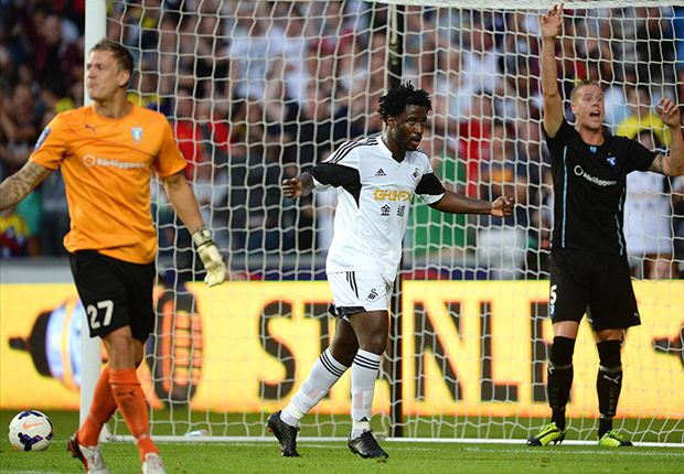 Partnership with Michu is going well, says Swansea new-boy Bony