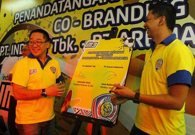 Arema Dan Indosat Menjalin Kesepakatan Sponsorship Selama Tiga Musim