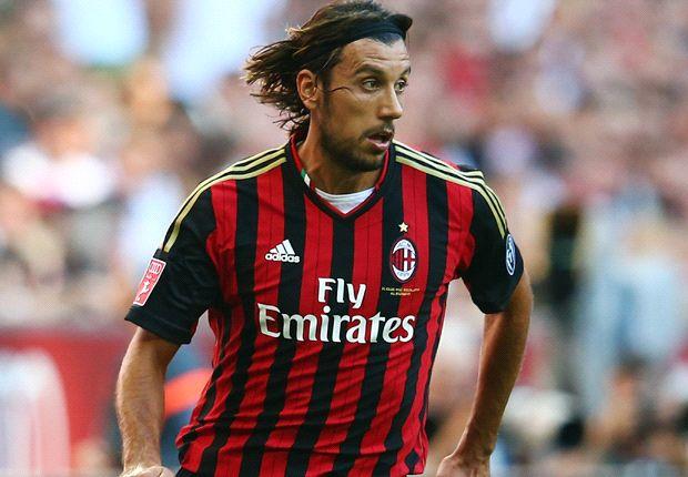 Cristian Zaccardo ist mit dem AC Mailand auf Titeljagd