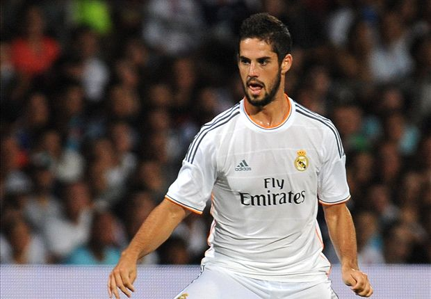 Isco has scored three goals in as many games in the La Liga.
