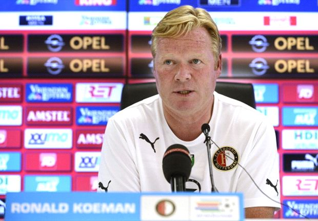 Koeman 'ziek' van slotfase Feyenoord