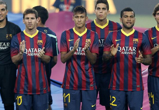 Messi is still Barcelona's top dog, Alves tells Neymar