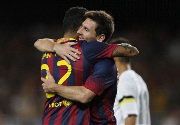 Schon bald wieder auf dem Platz vereint? Dani Alves und Lionel Messi