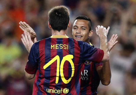 Wenger: Alexis suffered because of Messi