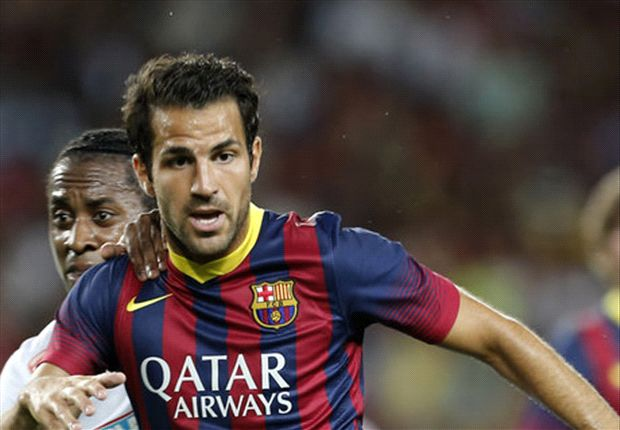 Barcelona rule out Fabregas exit