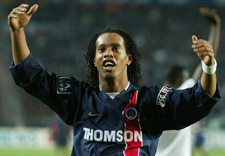 Ligue 1 greats: Ronaldinho