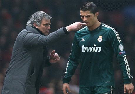 Ronaldo failed me in the UCL - Mourinho