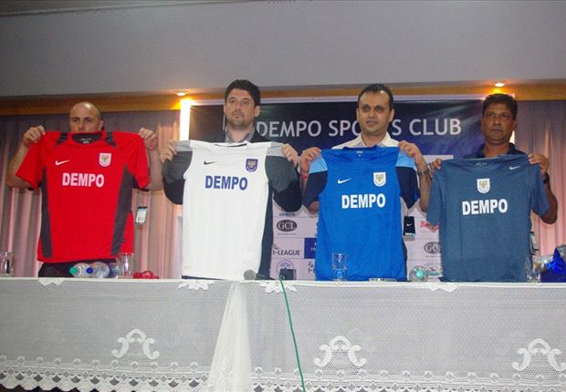 New Nike designs of Dempo Sports Club