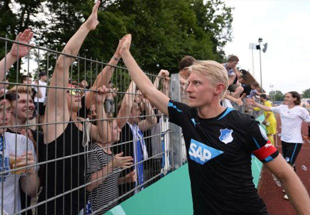 Andreas Beck und die Fans der TSG Hoffenheim