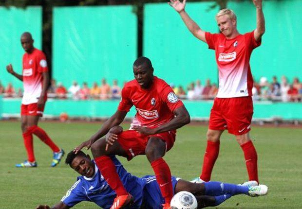 Gegen Neustrelitz nur knapp gewonnen: Der SC Freiburg