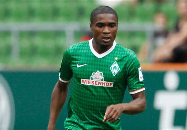 Fällt für das Spiel gegen Stuttgart aus: Werders Cedrick Makiadi