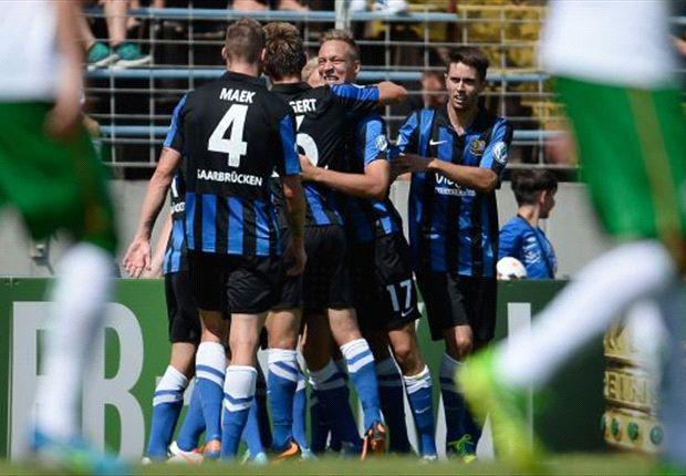 1. FC Saarbrücken warf Werder Bremen aus dem DFB-Pokal