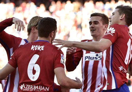 REPORT: Atletico pull level with Barca