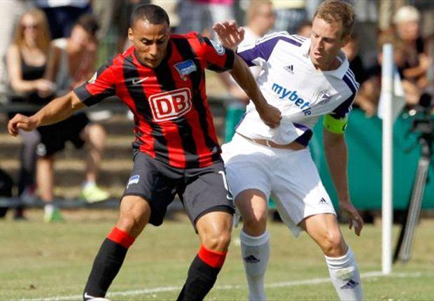 Hertha BSC steht in der 2. Runde des DFB-Pokals