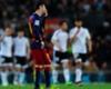 Barcelona 1-2 Valencia: Catalans fall