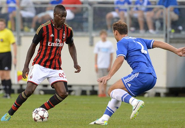 AC Milan striker Balotelli fit for PSV clash