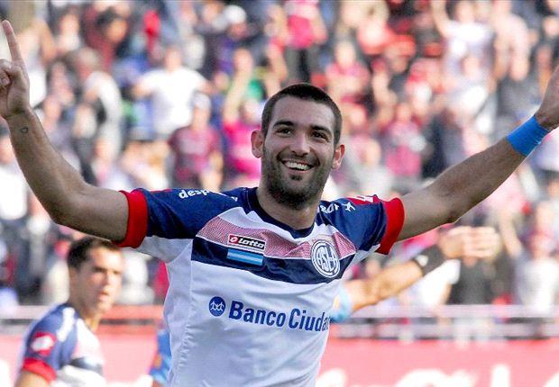 Martín Cauteruccio fue el goleador de San Lorenzo.