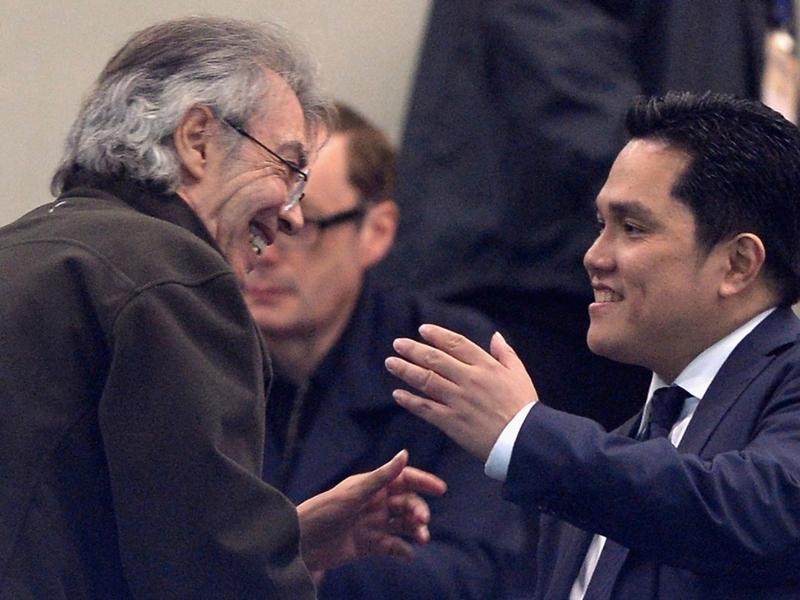 Inter, il presidente Thohir e Steven Zhang a cena con Moratti e Pioli