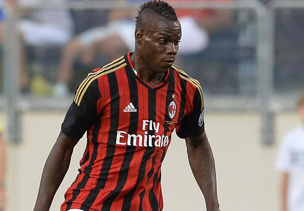 Mario Balotelli will mit dem AC Mailand in die Champions League