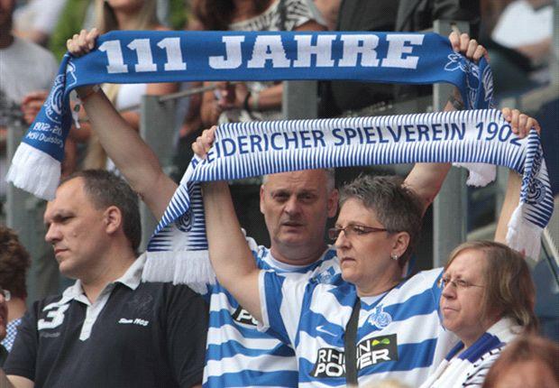 Erster Schritt getan: Die Fans des MSV Duisburg dürfen erstmal durchatmen
