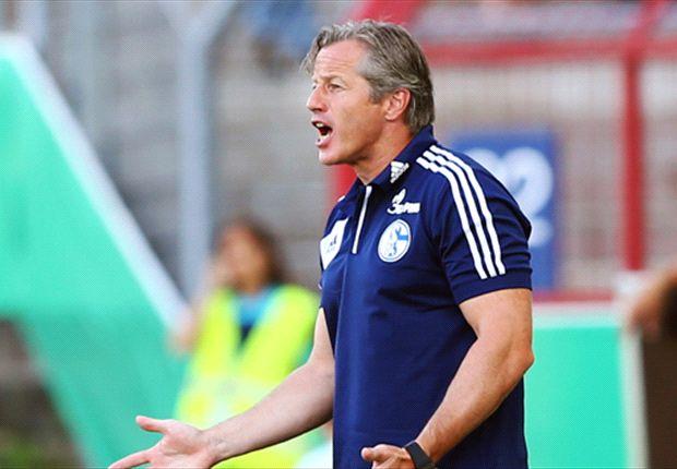 Angefressen: Schalke-Trainer Jens Keller