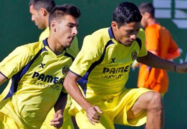 Javier Aquino anota su primer gol con el Villarreal