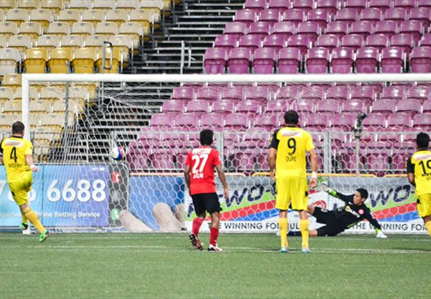 Stags extend lead with victory over plucky Young Lions