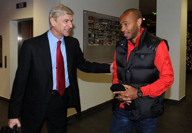 Henry: Wenger changed the philosophy of Arsenal