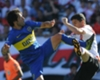 Tevez, D'Alessandro duel for Superclasico