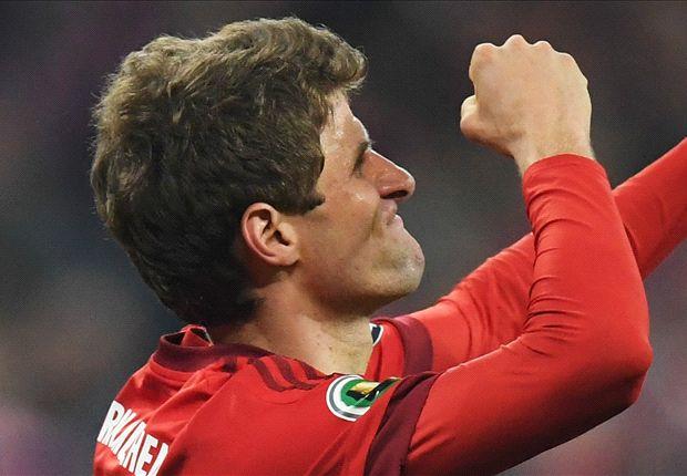 نیمه نهایی جام حذفی آلمان :بایرن مونیخ 2 وردربرمن 0 ، مولر و دیگر هیچ