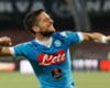 Napoli 6-0 Bologna: Mertens hat trick keeps Scudetto hopes alive
