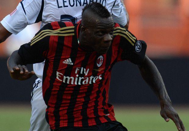 Mario Balotelli soll bald wieder für den AC Milan auf dem Platz stehen
