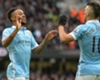Sterling hails ton-up Aguero