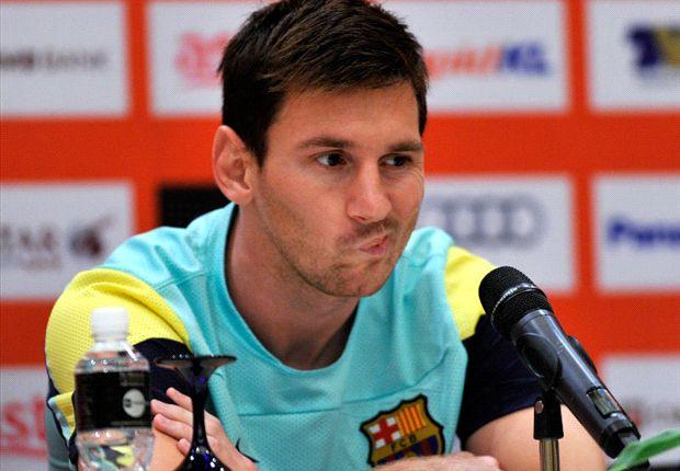 Messi está lesionado y se perderá el partido de este domingo en La Rosaleda