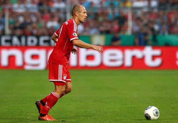Bayern Münchens Arjen Robben fiebert dem Bundesliga-Auftakt entgegen