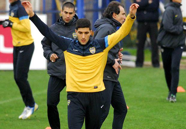 Blandi ya tuvo un paso afuera de Boca: fue en Argentinos durante el 2011, donde ganó continuidad.